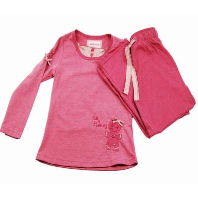 Oneway tégla színű mézeskalácsos pizsama