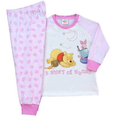 Pampress rózsaszín micimackós 2 részes pizsama