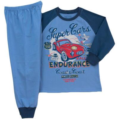 Pampress piros autós pizsama