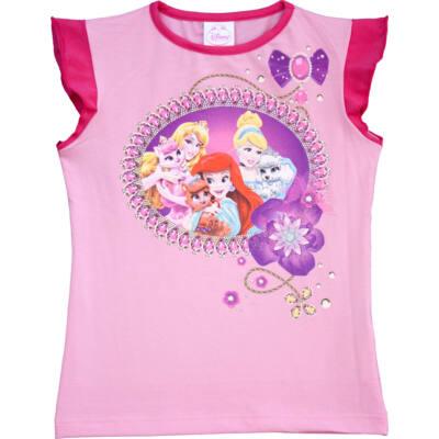 Pampress rózsaszín hercegnős póló